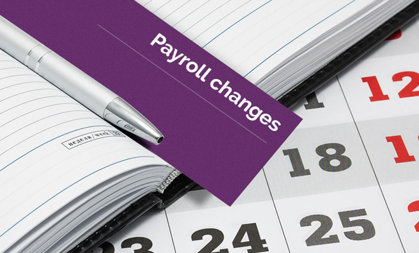 payroll changes